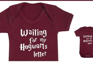 - HP, Body per neonato 'Waiting for my Hogwarts le