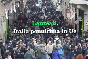 Laureati, Italia penultima in Ue