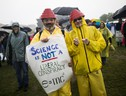 March for Science demonstration in Washington DC (ANSA)