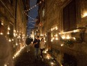 Candle's night in Vallerano (ANSA)