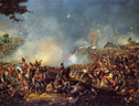 The Battle of Waterloo di William Sadler (fonte: Napoleon.org.pl) (ANSA)