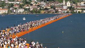 The Floating Piers (ANSA)
