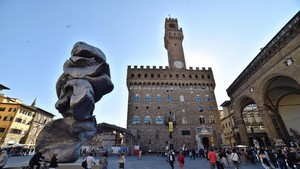 Big Clay a Firenze (ANSA)