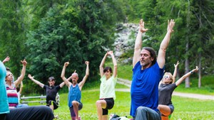 Lo Yoga Mountain Festival (ANSA)