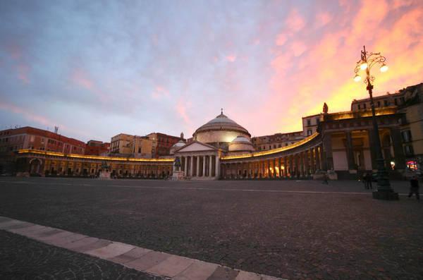 Napoli - Piazza del Plebiscito © Ansa
