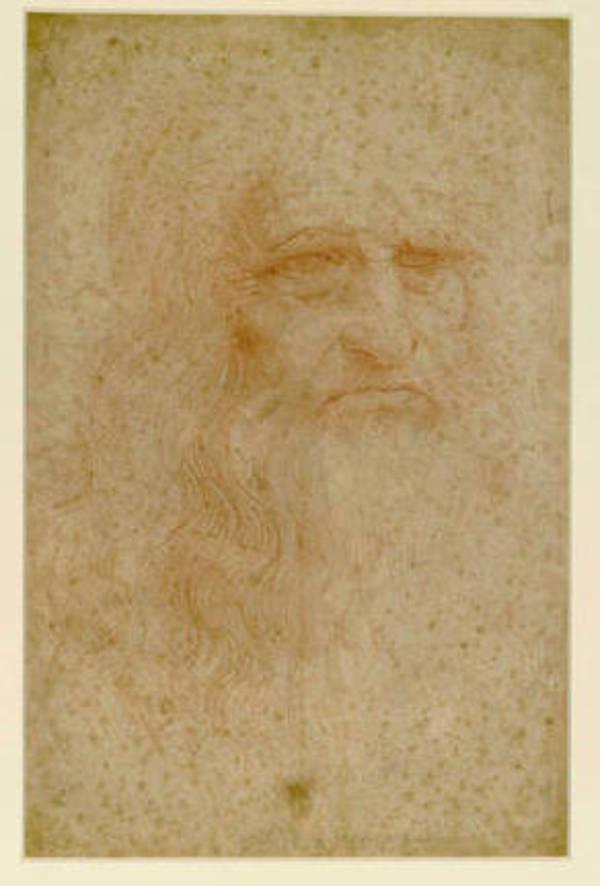 Autoritratto di Leonardo da Vinci (fonte: Biblioteca Reale di Torino) © Ansa