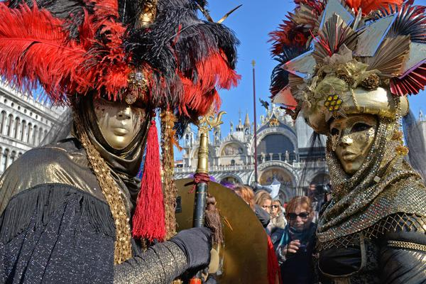 Una foto di archivio del Carnevale di Venezia © ANSA