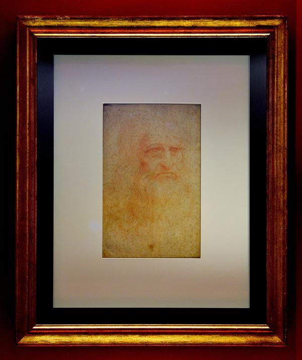 Autoritratto di Leonardo (e altri 50 disegni), la mostra a Torino
