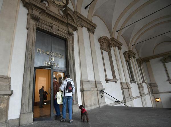 new style 6f717 e70e1 Brera: chiuse collezioni di arte moderna - Lombardia - ANSA.it
