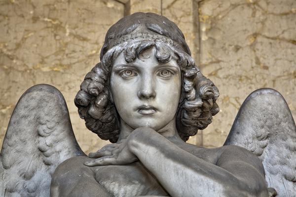 L'angelo di Monteverdi a Staglieno iStock. VIAGGIART © Ansa