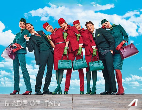 'Alitalia Day. Our journey to excellence' © Ansa