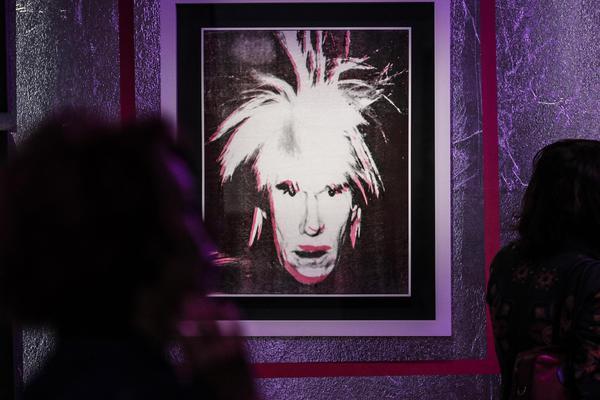 L'anteprima della mostra su Andy Warhol al Vittoriano