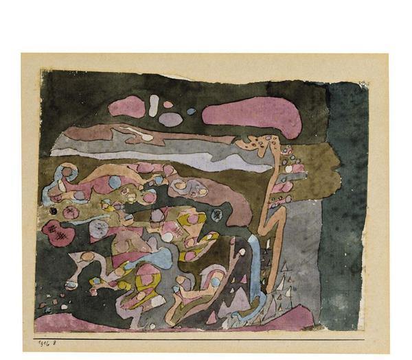Una delle opere di Paul Klee in mostra a Milano © ANSA