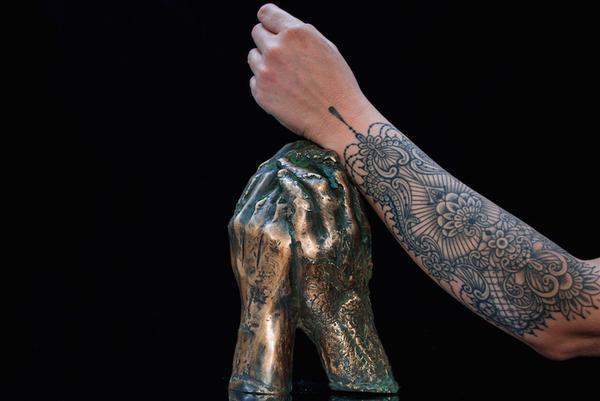 Arte, i tatuaggi di Marco Manzo in mostra al Vittoriano