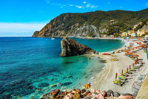 Spiagge Spiaggia di Fegina, Monterosso al Mare (SP) Liguria © ANSA