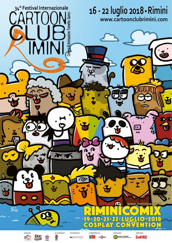 scottecs megazine 16  Cartoon Club a Rimini dal 16 al 22/7 - Emilia Romagna -