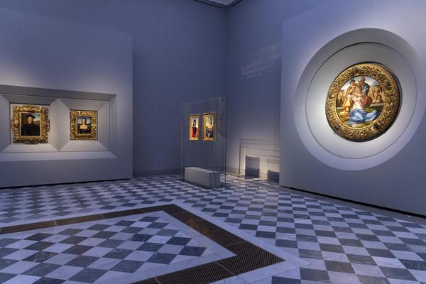 Rivoluzione Uffizi: Tondo Doni e Madonna del Cardellino insieme