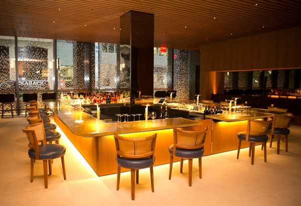 The Bar Room at the new Four Seasons ( Credit Nicole Craine for The New York Times) © Ansa