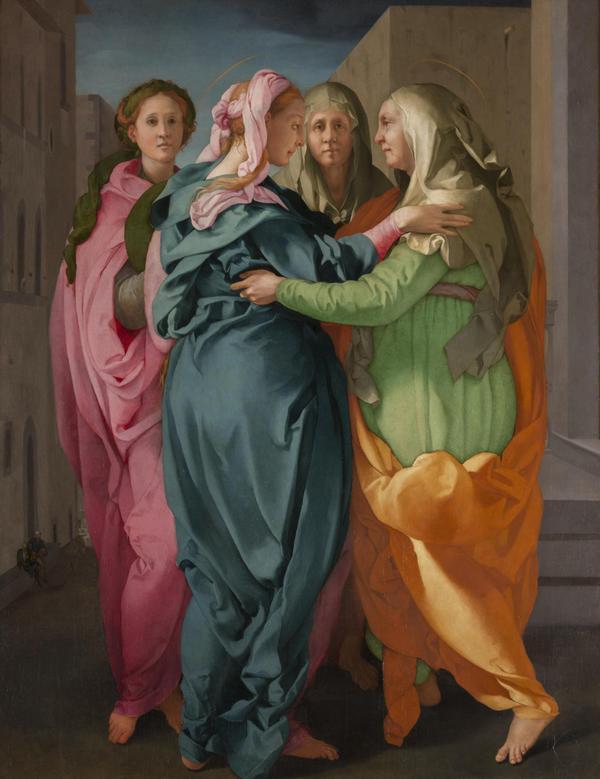 Pala d'altare del maestro del manierismo dopo NY al Getty © ANSA