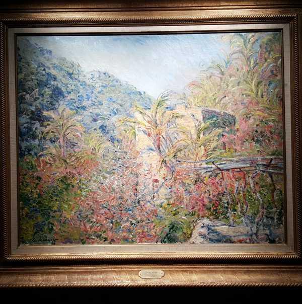 Monet torna a Dolceacqua e Bordighera - Liguria