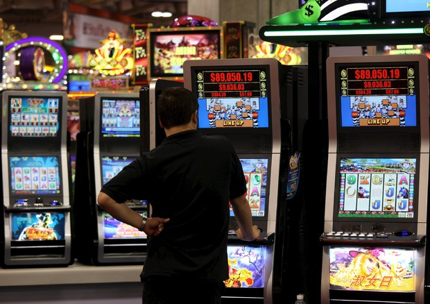 LUDOPATIA, SLOT MACHINE © EPA