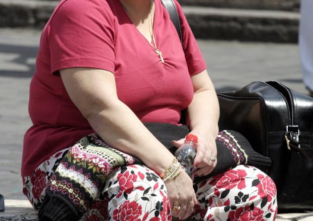Una donna in sovrappeso © ANSA