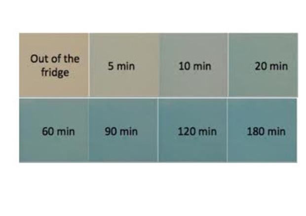 Etichetta 'smart' cambia colore se cibo non è sicuro, inventata da ricercatori della Bicocca © Ansa