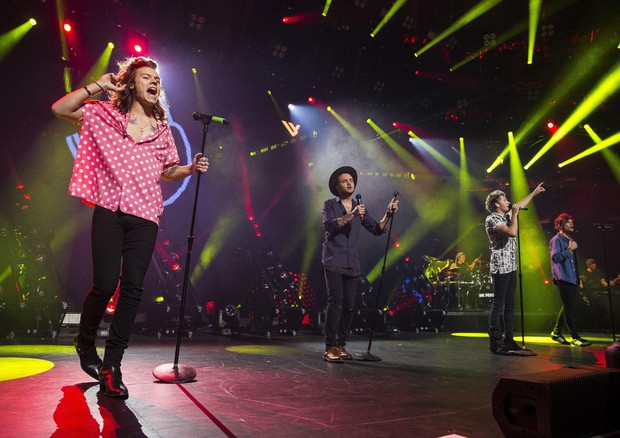 One Direction, Niall Horan, Liam Payne, Harry Styles, Louis © AP