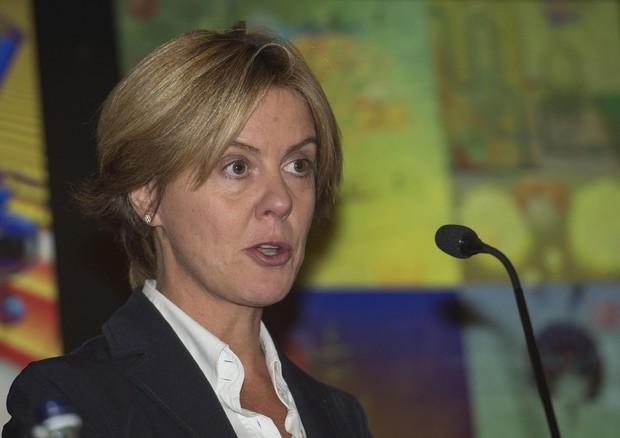 Il ministro della Salute, Beatrice Lorenzin, durante il convegno © ANSA