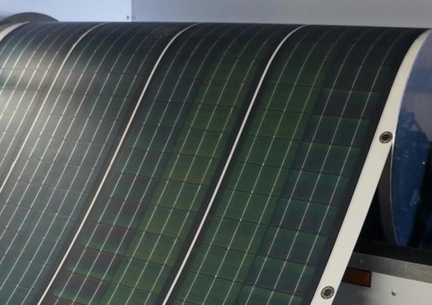 Pannello Energia Solare Portatile : Il pannello solare si fa portatile e srotolabile energia