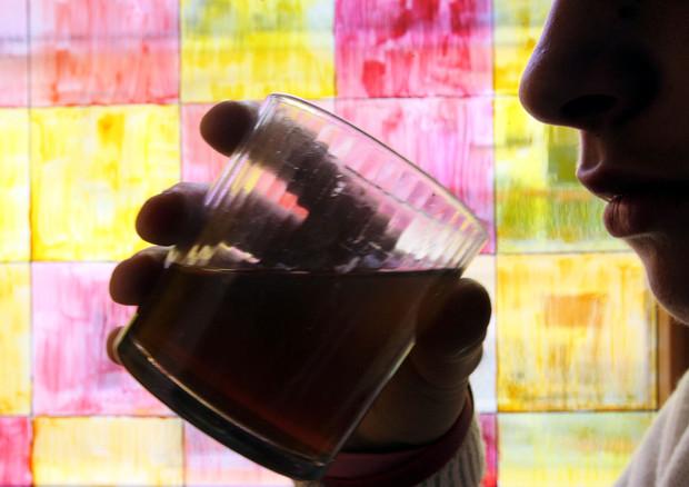 Aumenta l'abuso di alcol fuori pasto, 3,7 milioni di 'grandi bevitori' © ANSA
