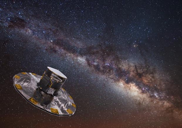 Affresco della Via Lattea
