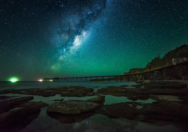 Secondo un modello teorico è possibile ascoltare la 'voce' delle stelle cadenti (fonte: Karl Lindsay) © Ansa