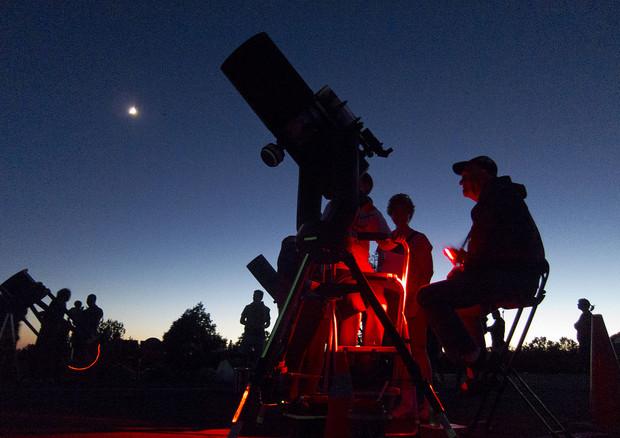 Occhi al cielo in aprile, mese internazionale dell'astronomia (fonte: Grand Canyon National Park) © Ansa
