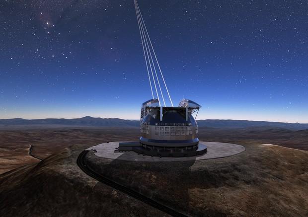 Spazio, al via in Cile la costruzione del telescopio E-Elt