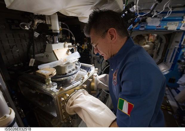 Spazio. Nespoli, la Soyuz trasportata verso la rampa di lancio