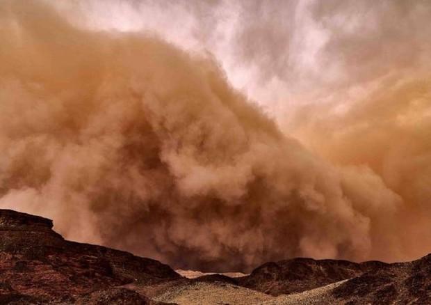 Foto tempesta di sabbia 35