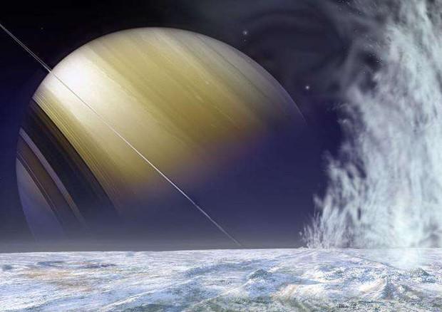Molecole organiche sulla luna di Saturno che nasconde un oceano