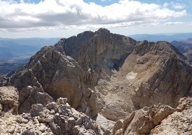 Gran Sasso, il caldo record fa sparire il ghiacciaio del Calderone