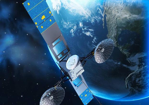 Illustrazione del satellite Tdrs-M in orbita (fonte: NASA's Goddard Space Flight Center) © Ansa