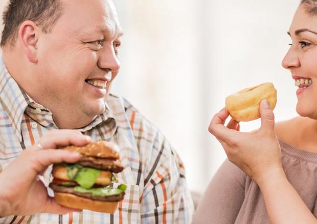 Diabete, se la moglie è obesa il rischio di malattia per il marito e' +21% © Ansa