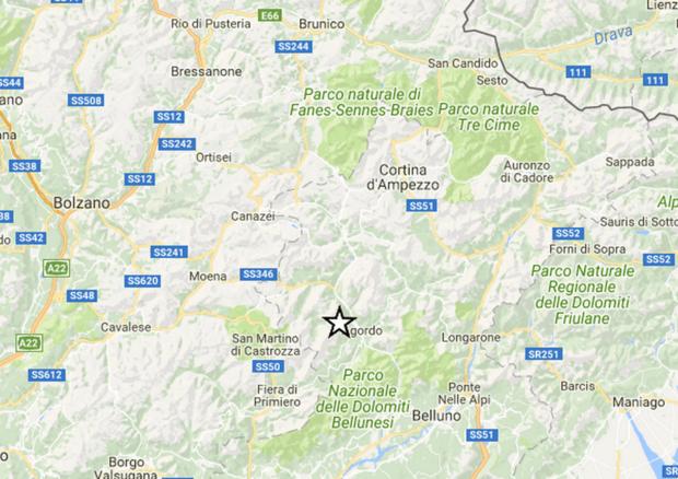 Tre scosse di terremoto a Belluno. Paura anche in Primero