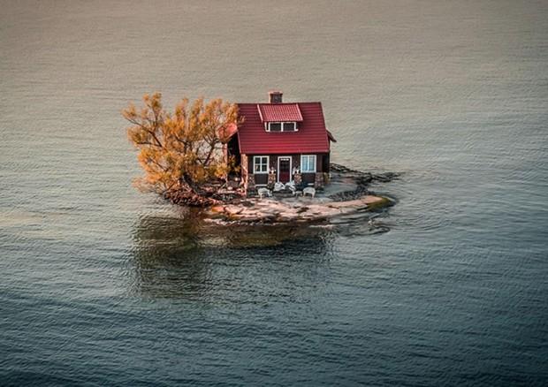 La natura vista dal drone le foto pi belle del 2017 for Immagini di belle case