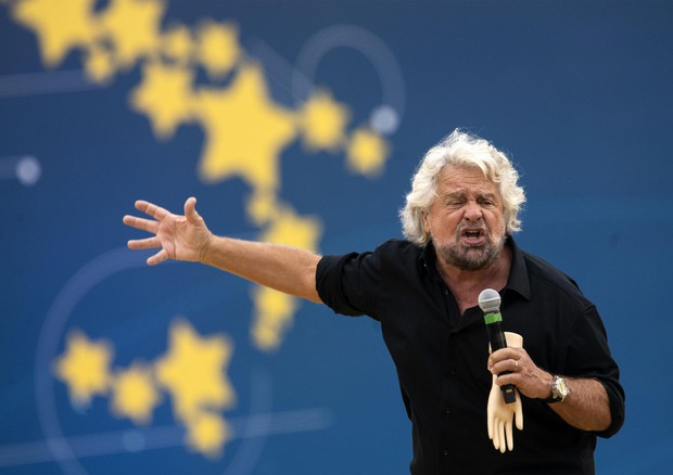 Beppe Grillo al Circo Massimo © ANSA