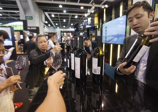 Il vino traina l'export agroalimentare in Cina