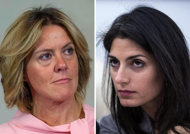 Beatrice Lorenzin e Virginia Raggi