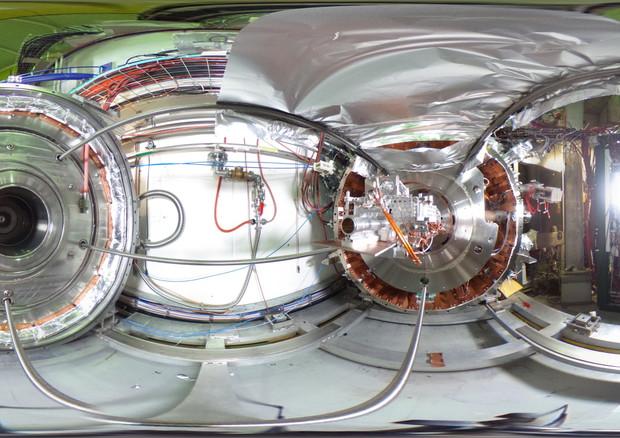 Una delle 'trappole' per l'antimateria realizzate al Cern (fonte: CERN) © Ansa