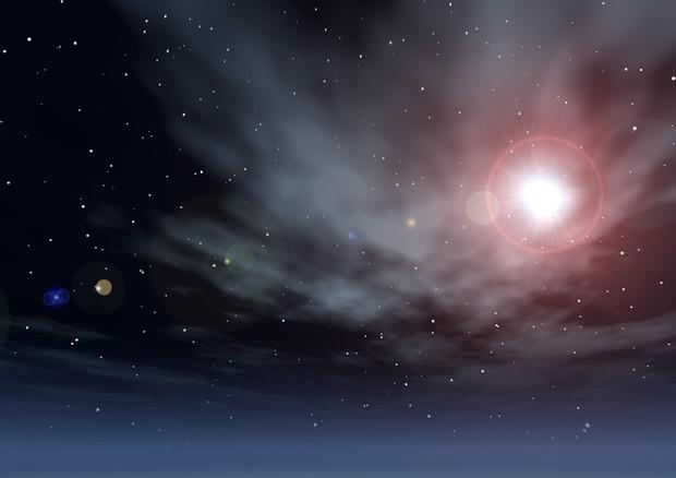 L'esplosione di una supernova catturata per caso
