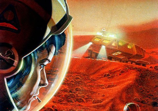 Potrebbe essere 'rosa' la conquista di Marte (fonte: NASA/Paul DiMare) © Ansa