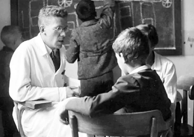 Austria, pediatra Asperger